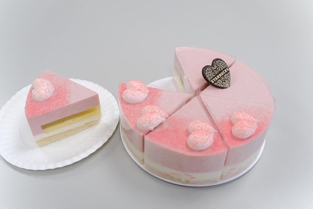 紅心芭樂青蘋蛋糕/2021母親節蛋糕/星巴克/台灣