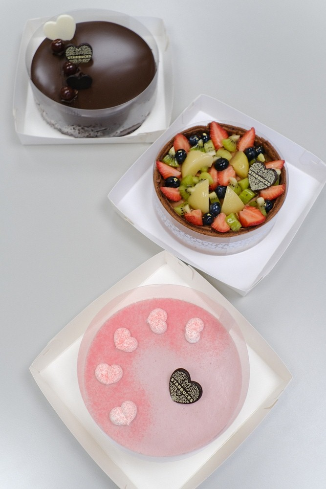 法式黑森林蛋糕/紅心芭樂青蘋蛋糕/繽紛水果巧克力蛋糕/2021母親節蛋糕/星巴克/台灣