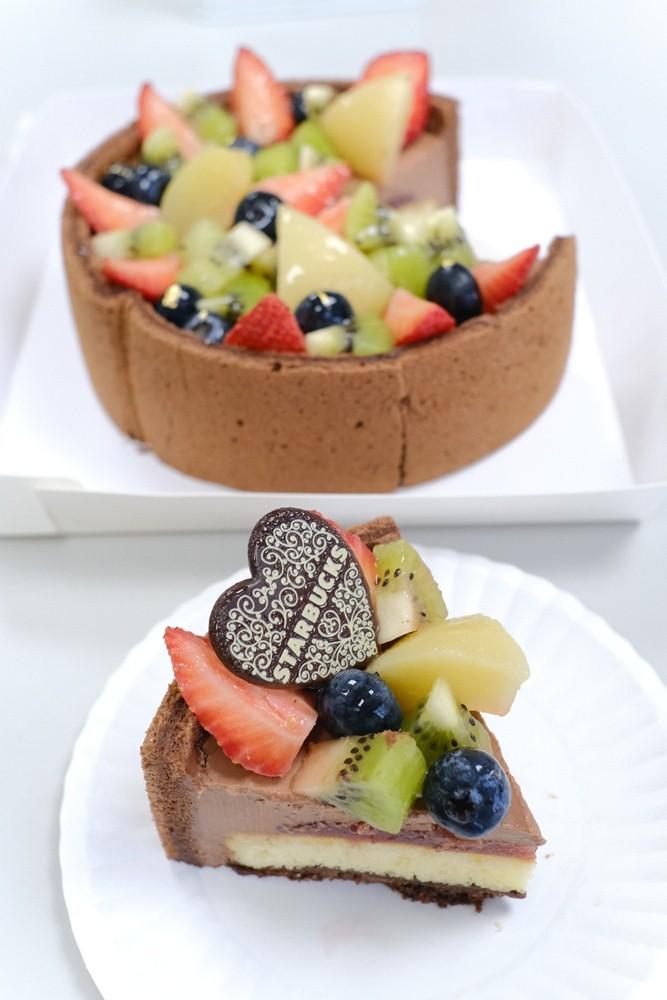 繽紛水果巧克力蛋糕/2021母親節蛋糕/星巴克/台灣
