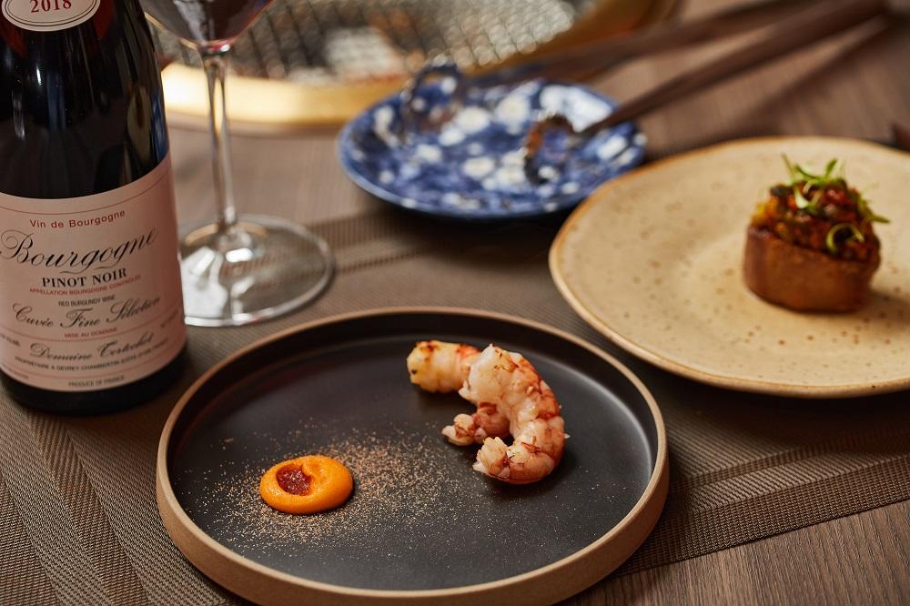 炙烤天使紅蝦/餐點/胡同裡的蘭/日式燒肉/餐廳/美食/台北/台灣