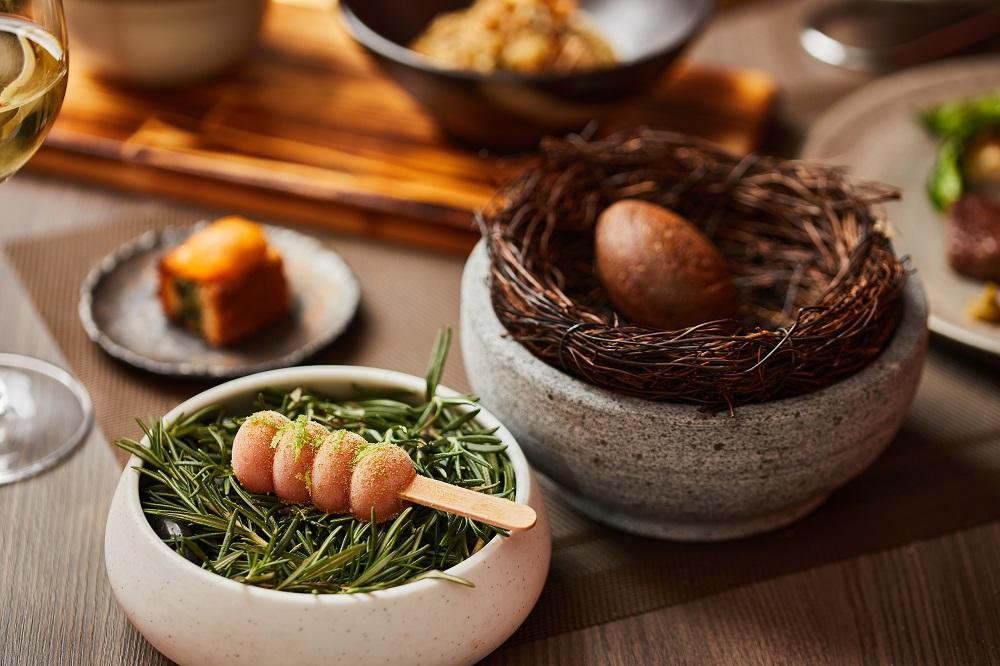 鐵觀音雞蛋糕/餐點/胡同裡的蘭/日式燒肉/餐廳/美食/台北/台灣