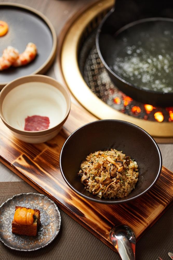 鮮牛肉野菇湯泡飯/餐點/胡同裡的蘭/日式燒肉/餐廳/美食/台北/台灣