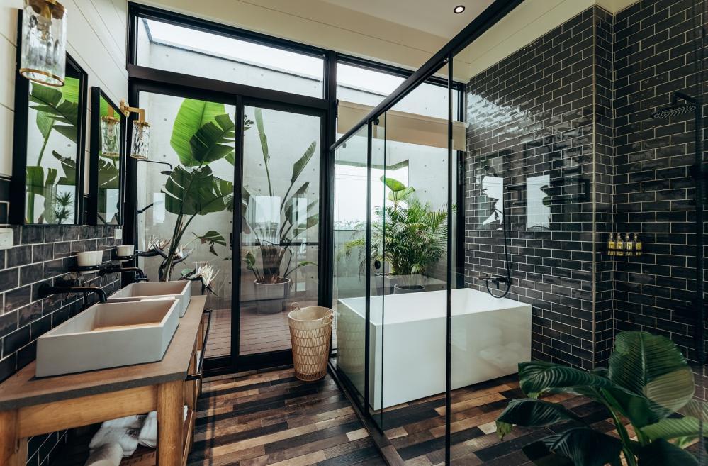浴室/光旅暖稻/宜蘭/台灣