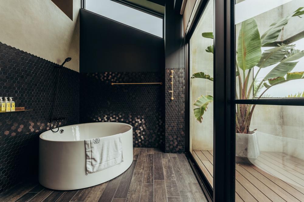 浴室/客房/光旅暖稻/宜蘭/台灣