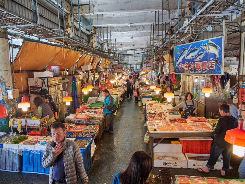 市場裡/南方澳觀光漁市場/南方澳/宜蘭/台灣