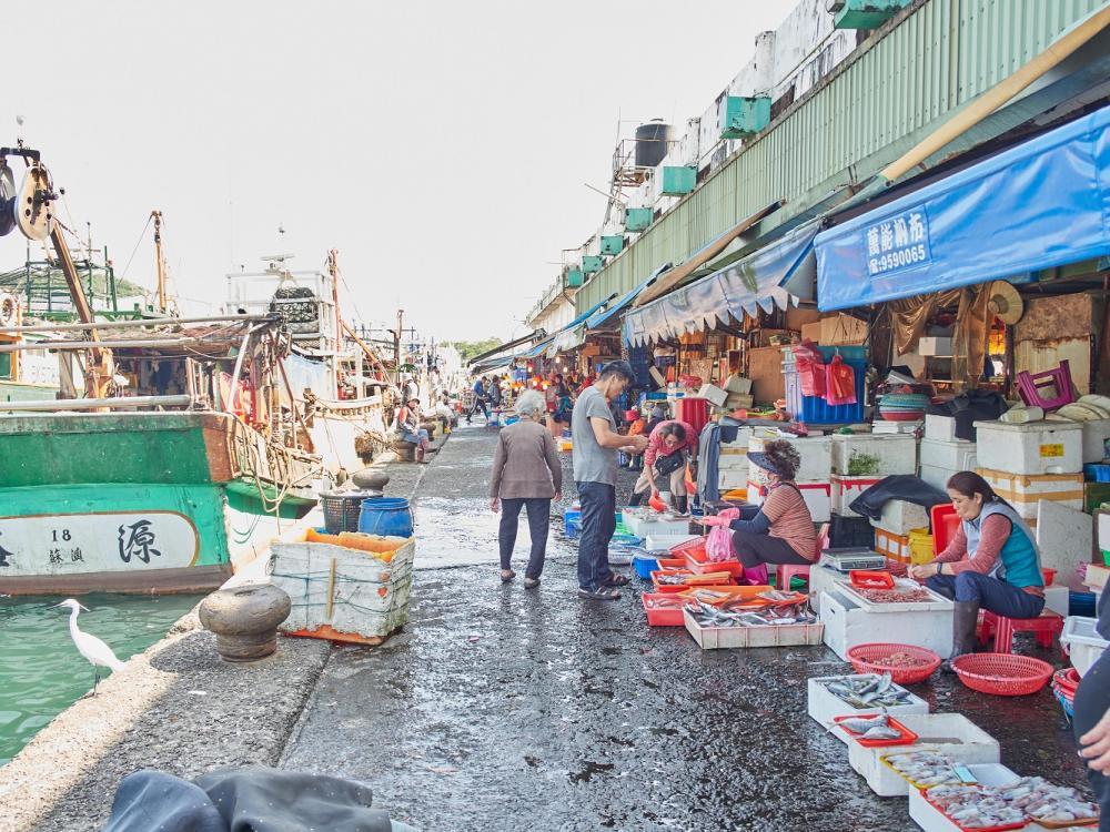 市場外/南方澳觀光漁市場/南方澳/宜蘭/台灣