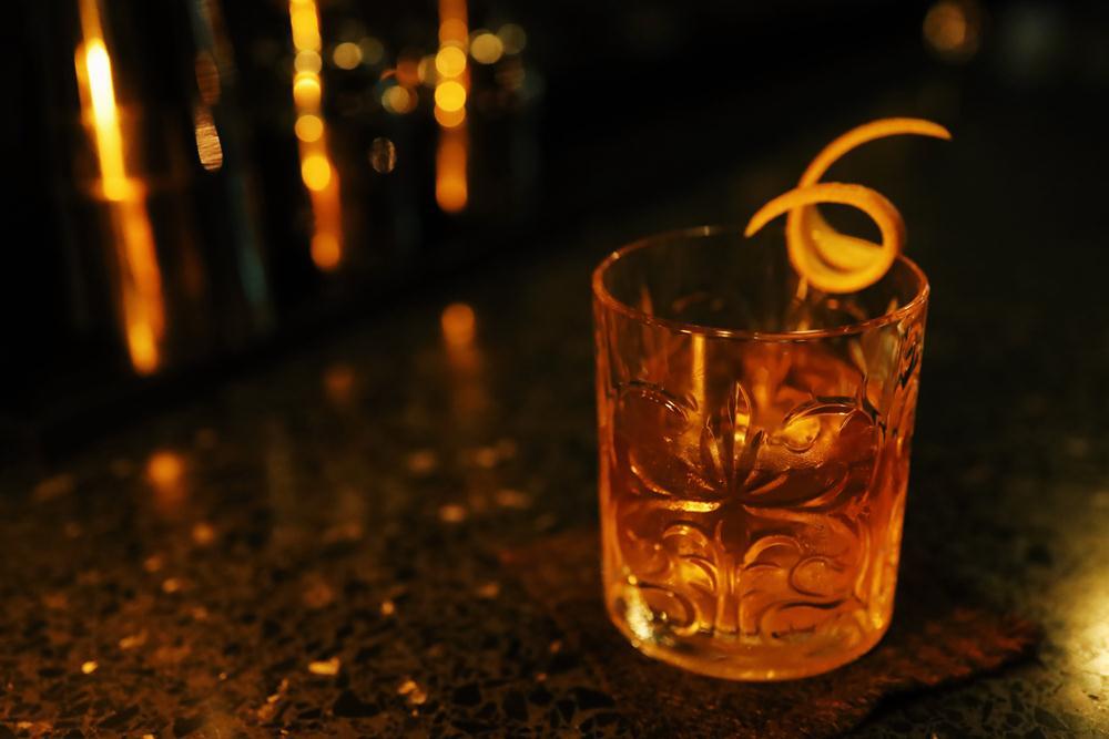 波本威士忌/調酒/Gato Bonheur Bar & Jazz Lounge/酒吧/松山區/台北/
