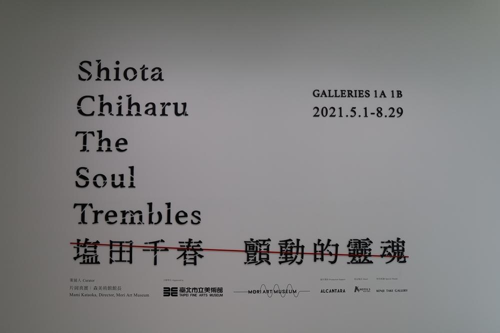 標示/顫動的靈魂/塩田千春:顫動的靈魂/展覽/市立美術館/台北/台灣