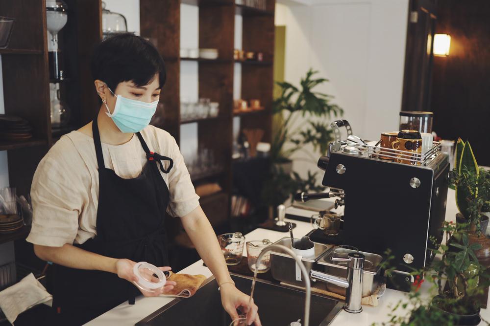 櫃台/空間/玉虫画室咖啡/畫室/咖啡館/台北/台灣