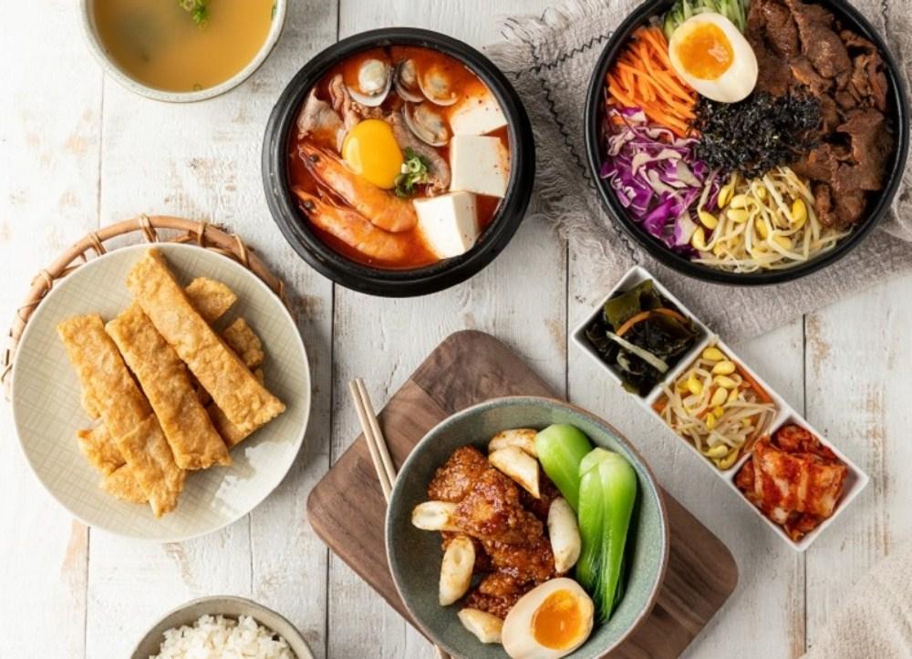 韓式料理/韓姜熙的小廚房/MITSUI OUTLET PARK/台中/台灣