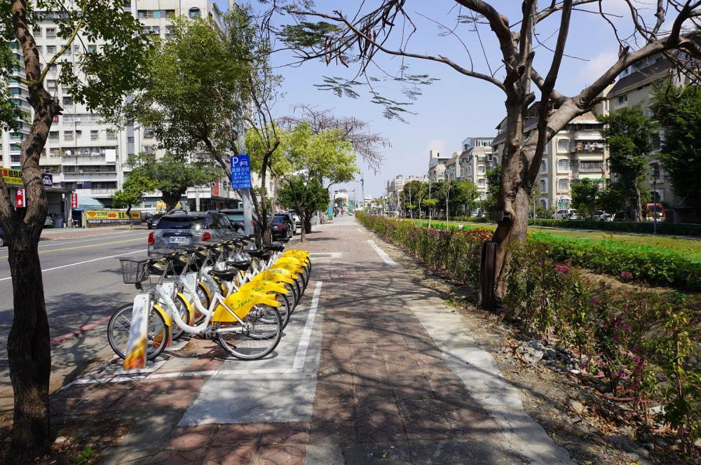 Youbike 自行車站/旅遊/高雄/台灣