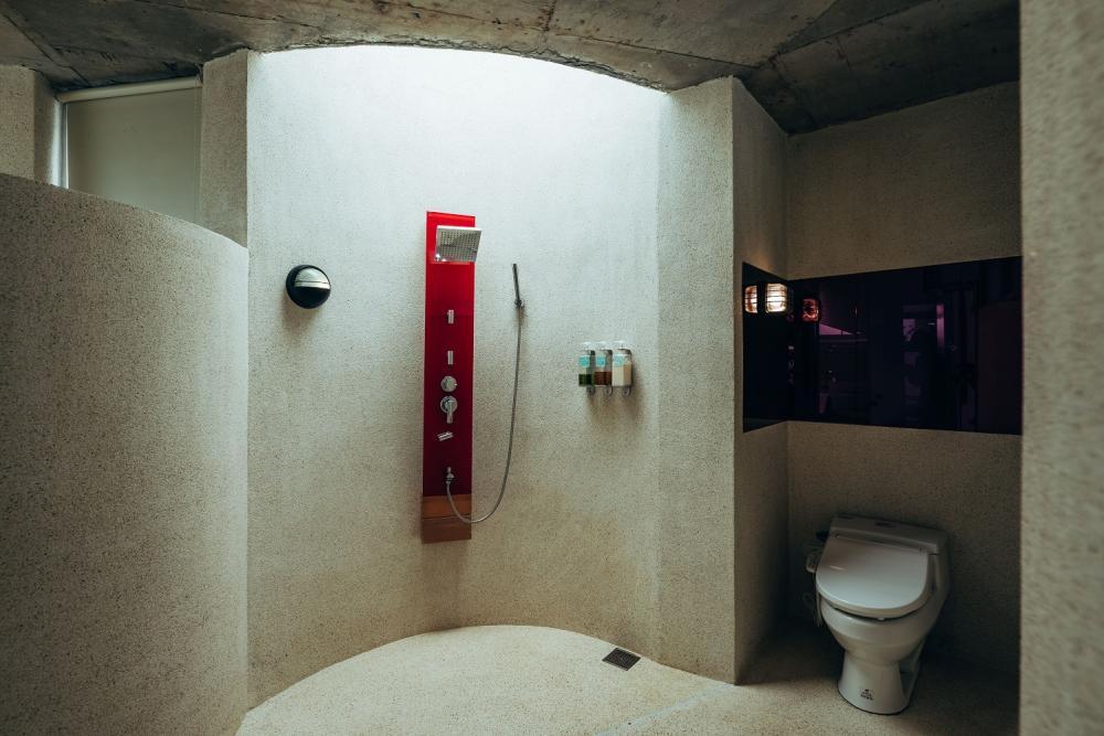 浴室/漂浮島/有朋會館/礁溪/宜蘭/台灣