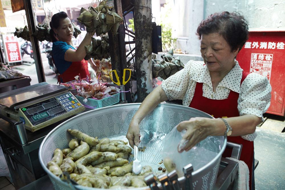 金赫玉/粽子/美食/嘉義/台灣