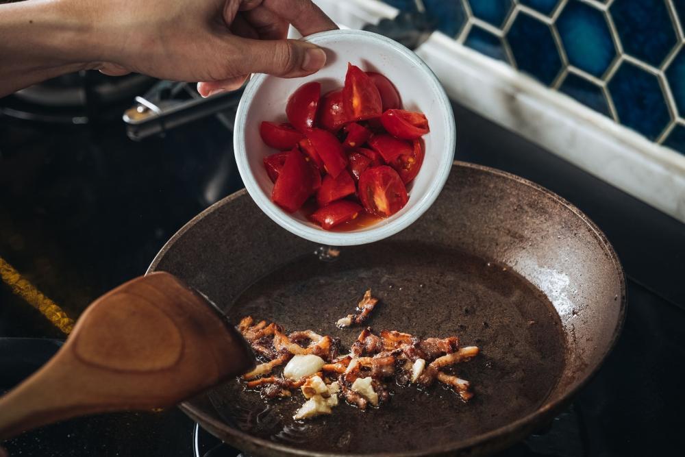 蛤蜊番茄義大利麵/下酒菜/美食/台灣
