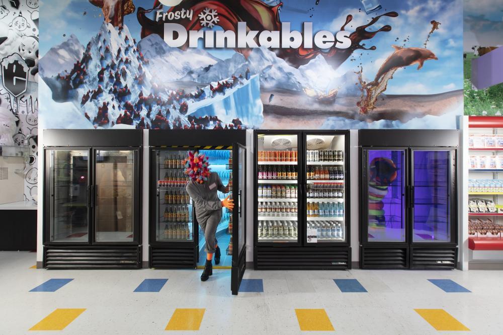 冰櫃/外觀/Omega Mart/拉斯維加斯/美國