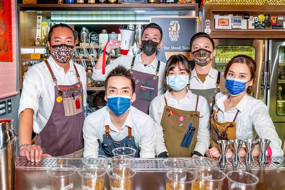 得獎/Aha Saloon/酒吧/沛綠雅/2021亞洲50大酒吧/台灣