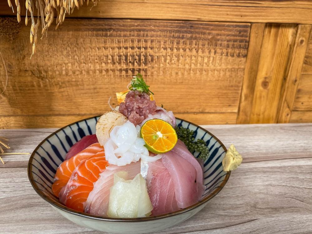 海鮮丼/漁米島•海鮮丼專賣店/日式料理/文青風/美食/大同區/台北/台灣