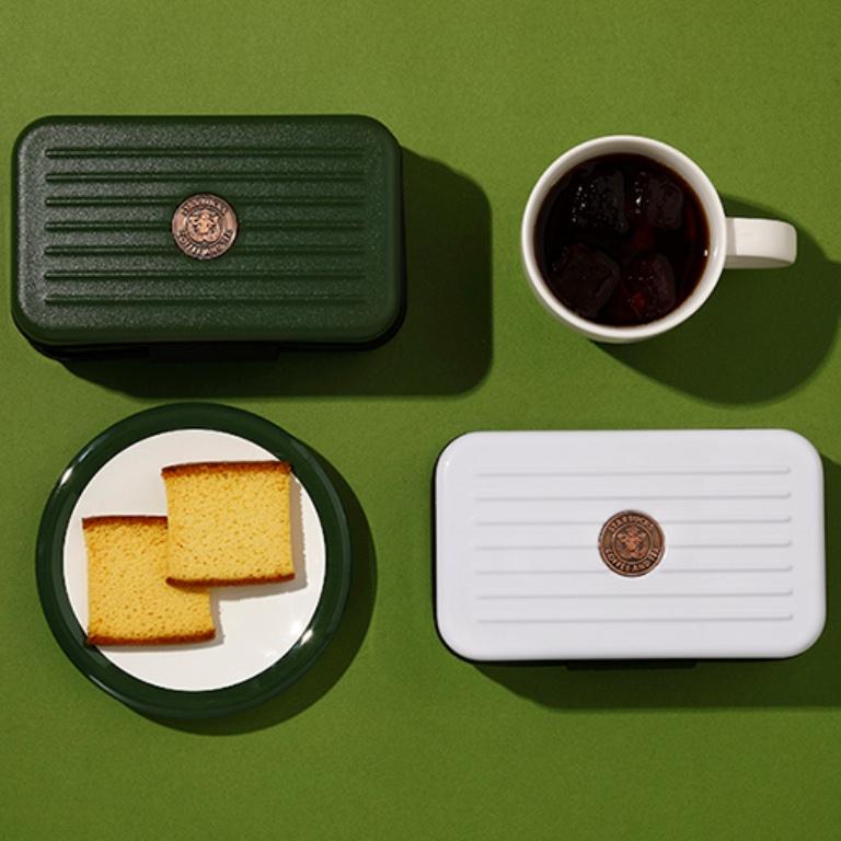 蜂蜜蛋糕脆餅收納包/端午節禮盒/星巴克/台灣