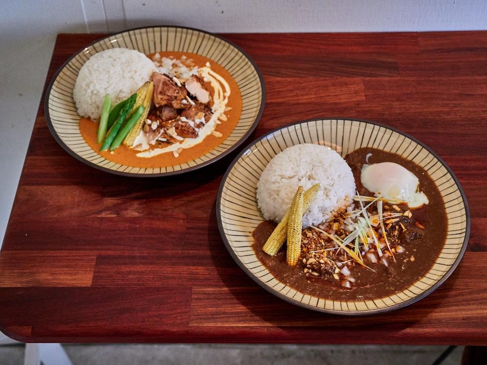 香料雞腿奶油咖哩/香辣牛肋咖哩/咖喱飯店/餐廳/文山區/台北/台灣