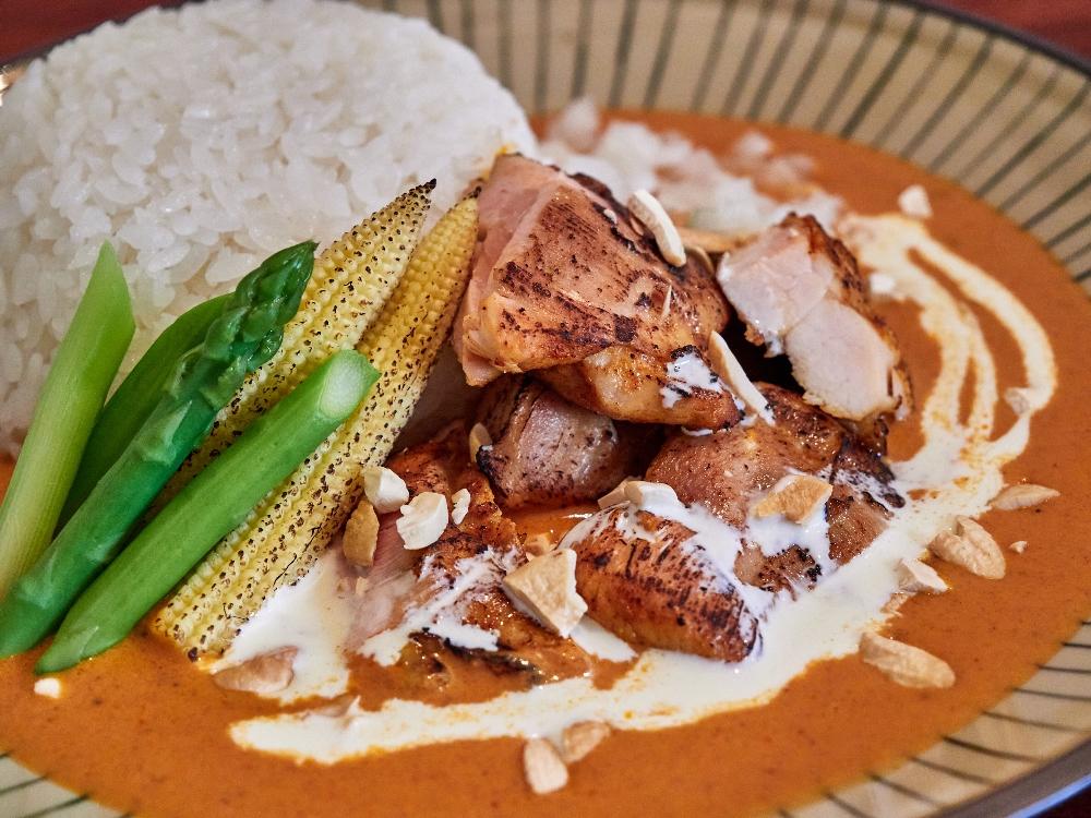香料雞腿奶油咖哩/咖喱飯店/餐廳/文山區/台北/台灣