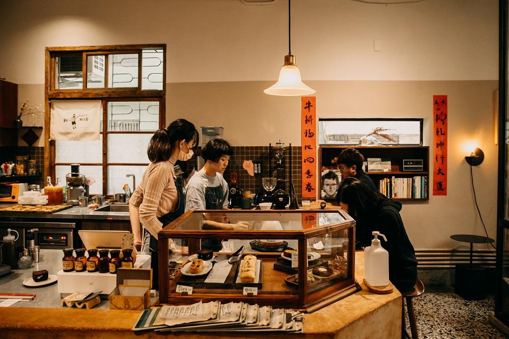 櫃台/內部空間/微生 Float Dept./咖啡廳/美食/新竹/台灣