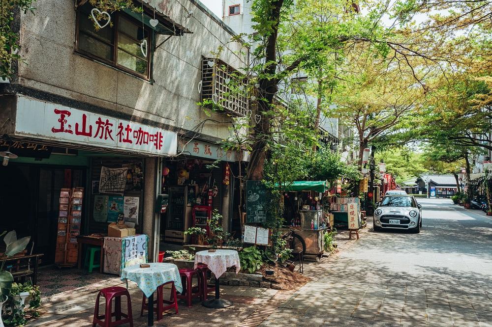 玉山旅社咖啡/單車/旅遊/嘉義/台灣