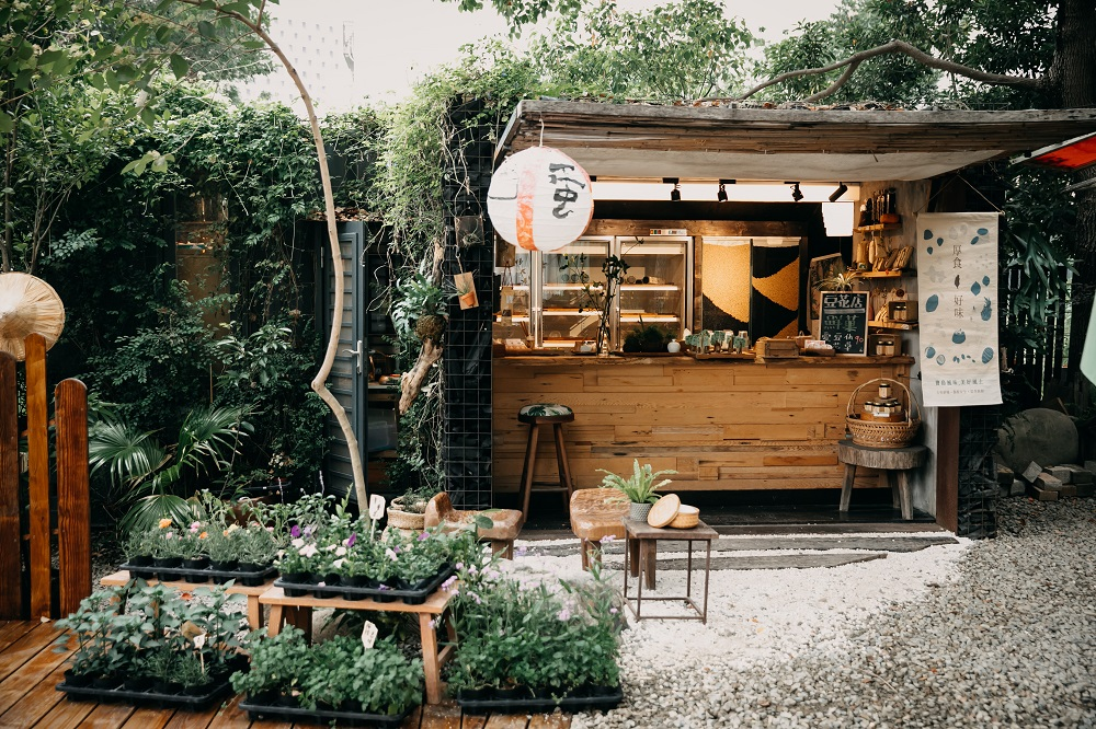 外觀/東厚食Cafe/森林咖啡/美食/新竹/台灣