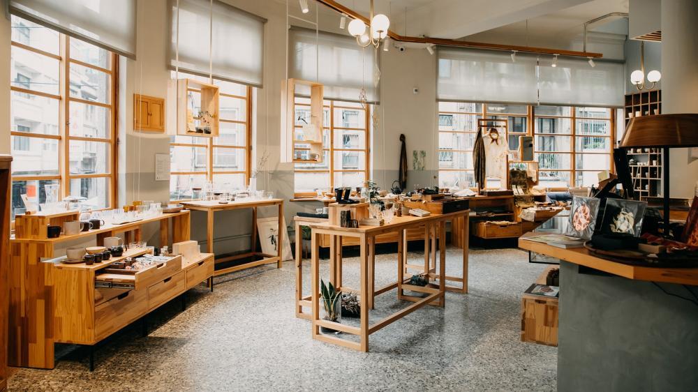 內部空間/或者工藝櫥窗/複合式咖啡廳/新竹/台灣