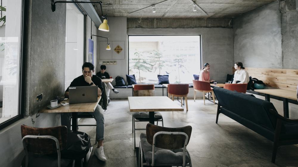 店內空間/一想一響ReEcho Coffee/複合式咖啡店/新竹/台灣