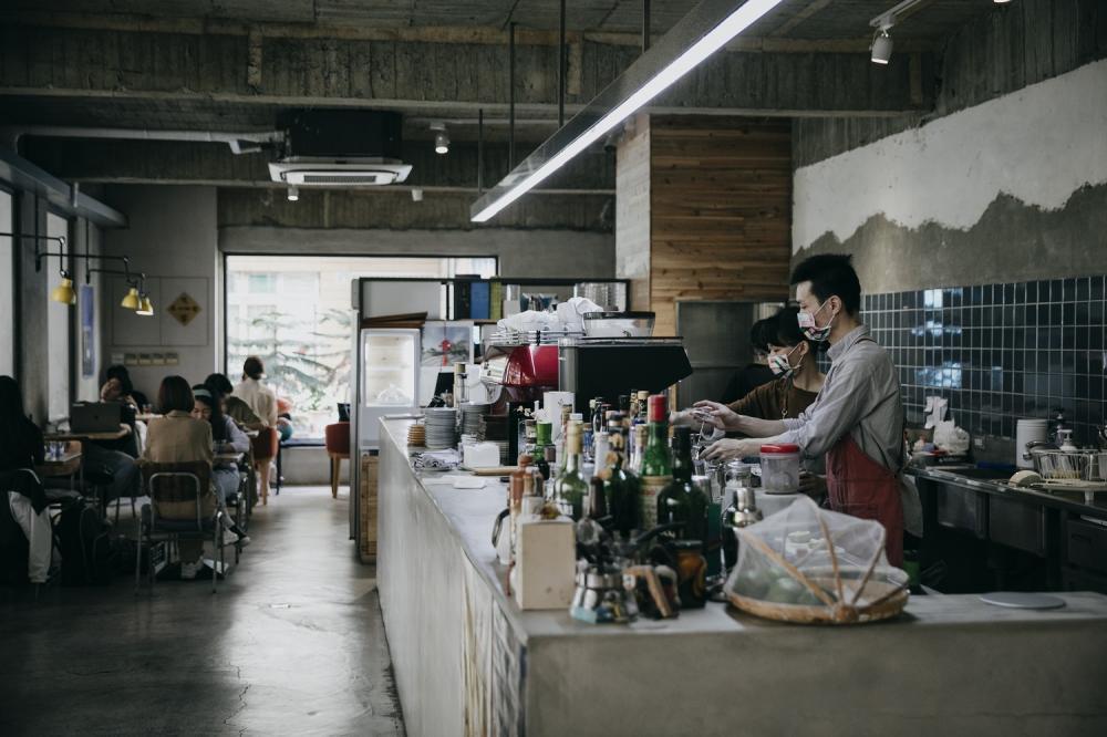 吧台/一想一響ReEcho Coffee/複合式咖啡店/新竹/台灣