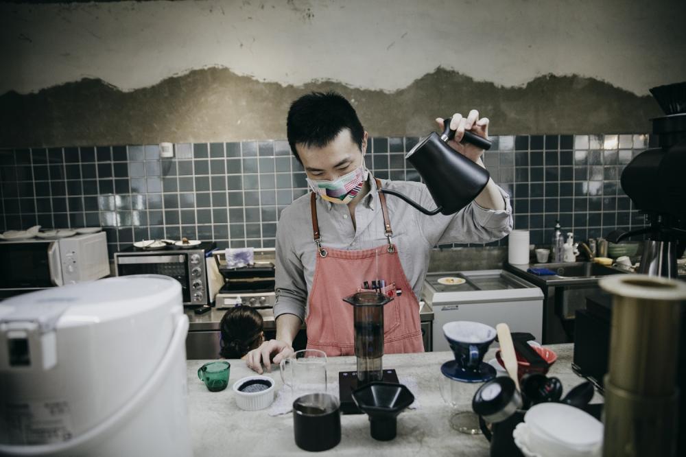 老闆/一想一響ReEcho Coffee/複合式咖啡店/新竹/台灣