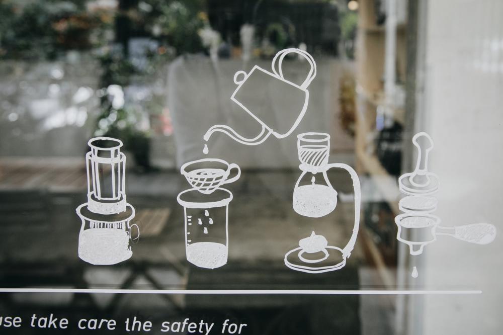 外觀/一想一響ReEcho Coffee/複合式咖啡店/新竹/台灣