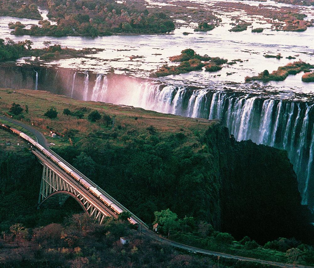 維多利亞大瀑布/風景/Victoria Falls Journey/非洲之傲/火車/非洲