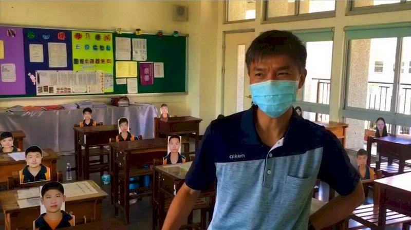 王迪元/自然科老師/虎尾國中/遠距教學/疫情/雲林/台灣