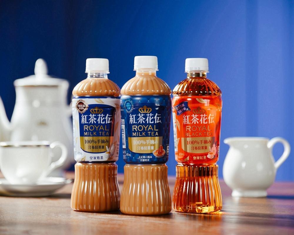 奶茶/紅茶花伝/太妃糖の風味岩鹽奶茶/台灣
