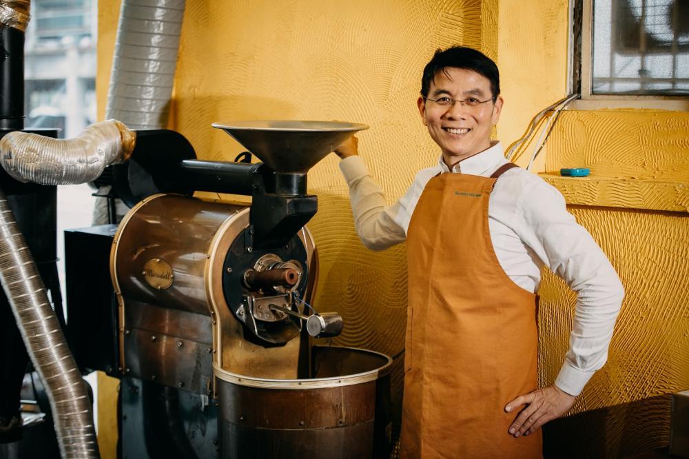 Andy/直達咖啡/咖啡職人/新竹/台灣