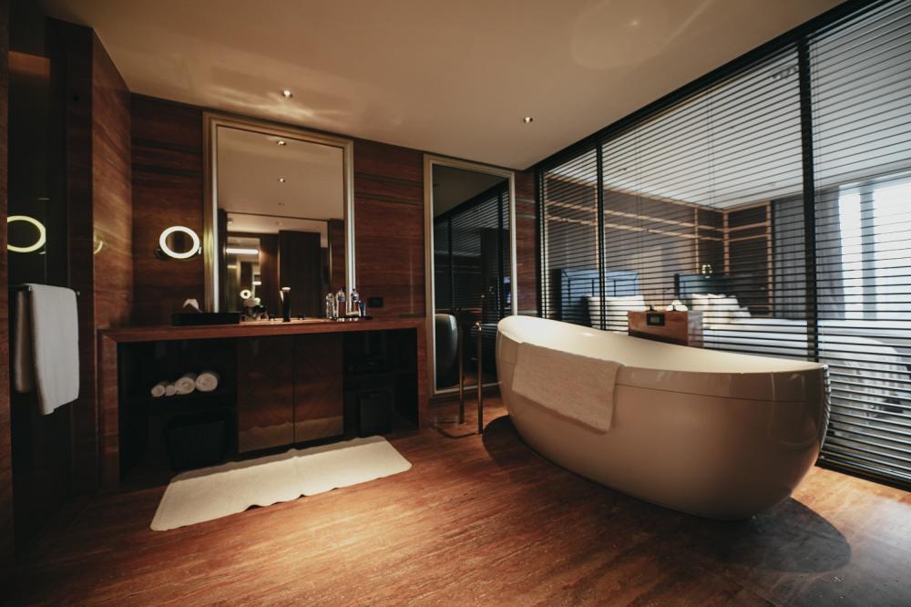 浴室/客房/H2O HOTEL水京棧國際酒店/高雄/台灣