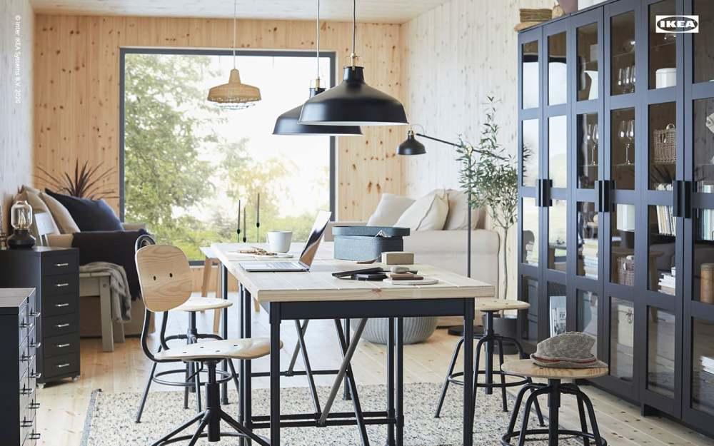 北歐風場景/視訊背景/IKEA網站