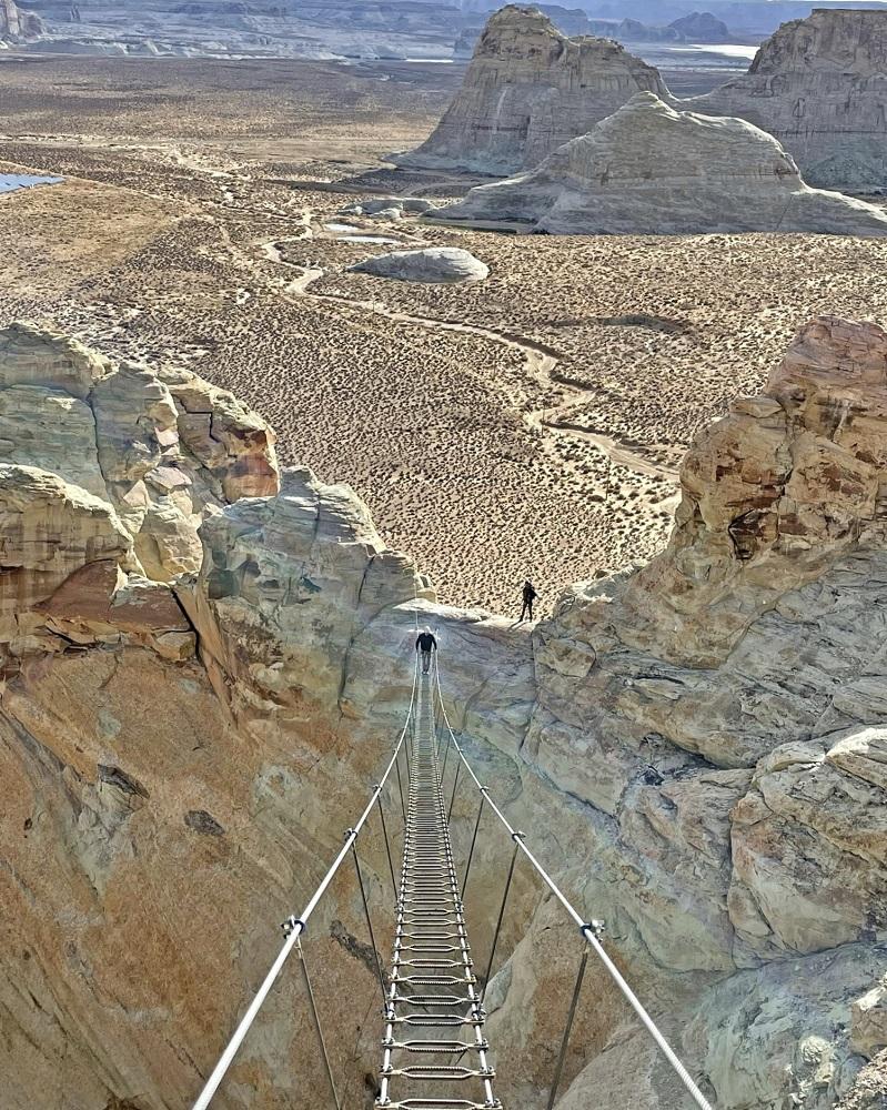 Cave Peak 空中階梯/大峽谷/安縵奇嶺/國家公園/美國