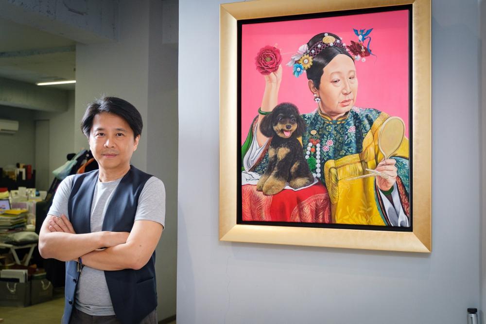 胡朝聖/藝術家/香港藝術展/香港