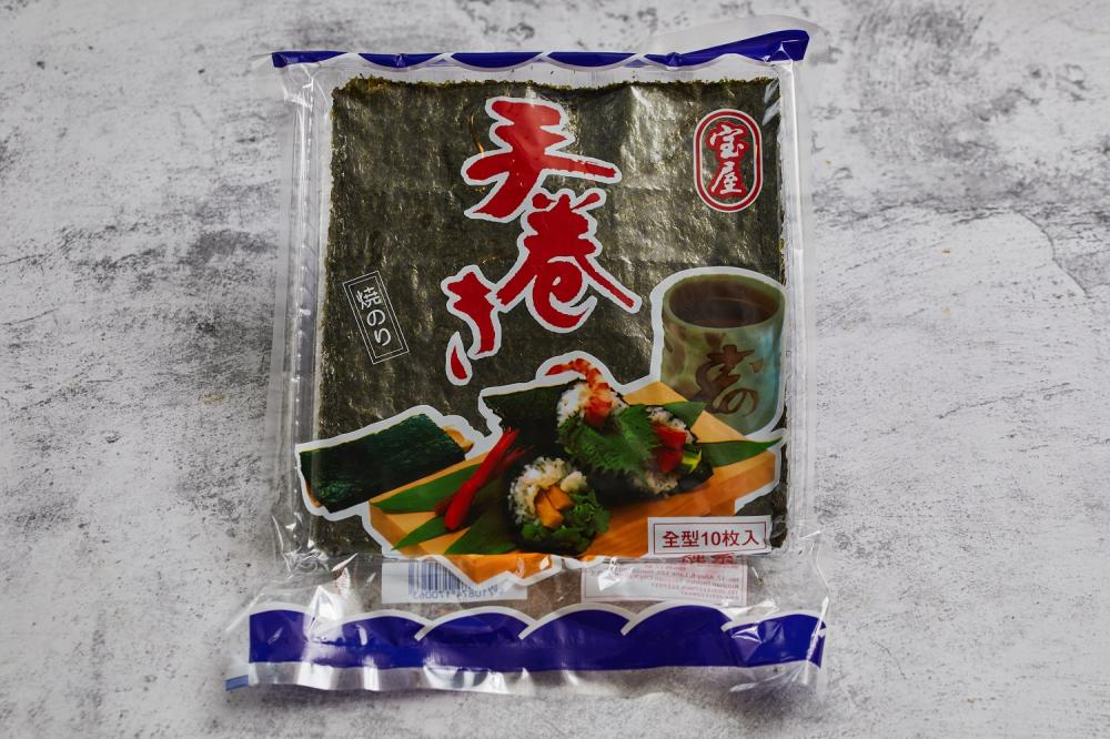 海苔佃煮蛋卷/下酒菜/美食/台灣