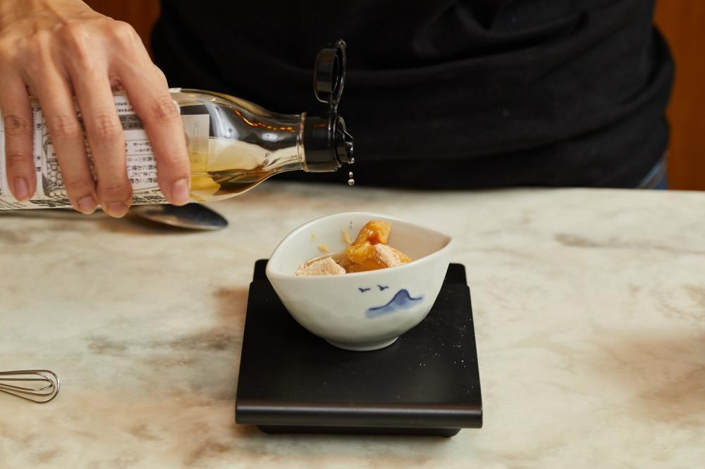 醋味噌拌螢烏賊與青花筍/下酒菜/美食/台灣
