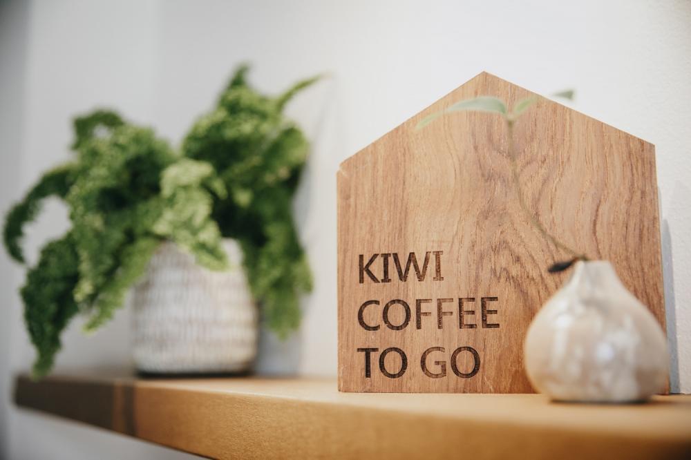 招牌/Kiwi to go/白金咖啡/新竹/台灣