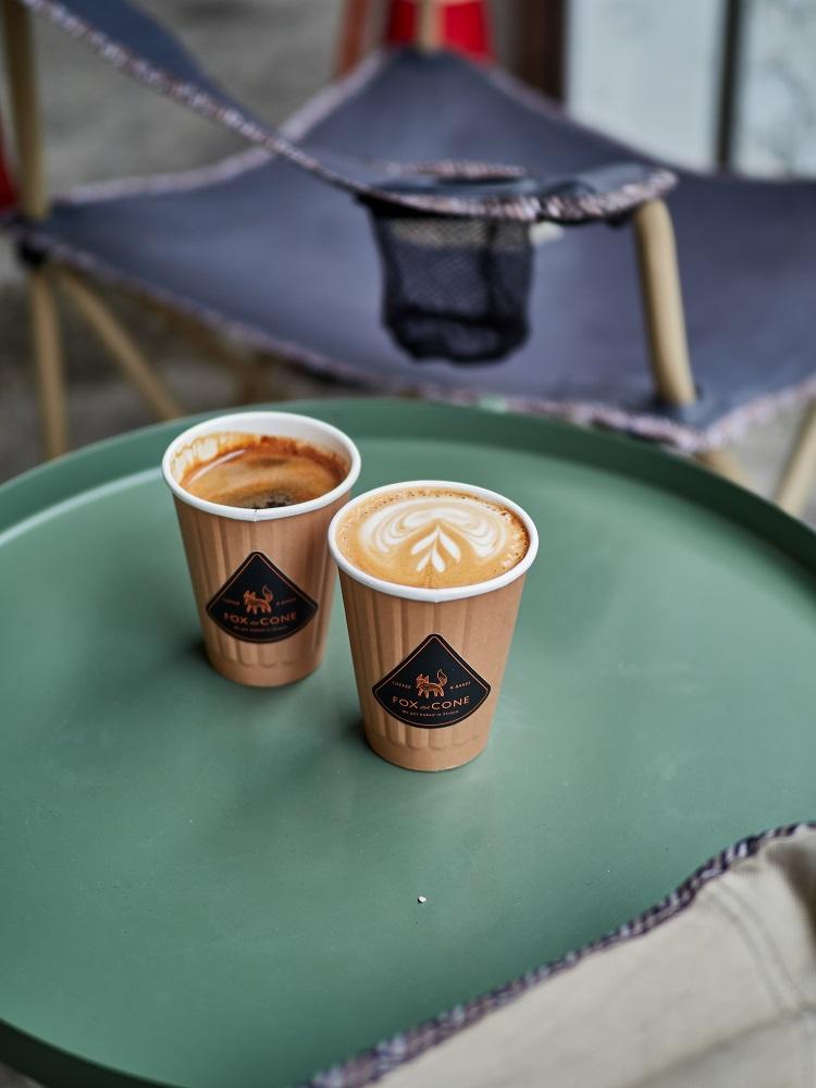 咖啡/FOX.CONE coffee & bakes/澳式咖啡/新竹/台灣