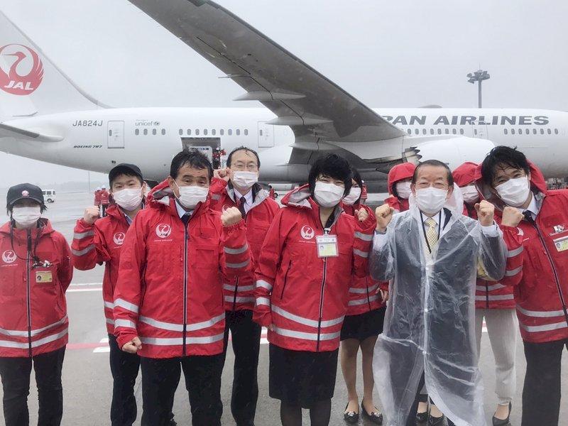 AN疫苗/成田機場/日航/日本/台灣