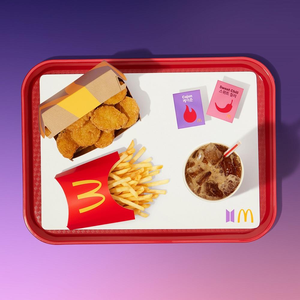 麥克雞塊餐/麥當勞/THE BTS MEAL/台灣