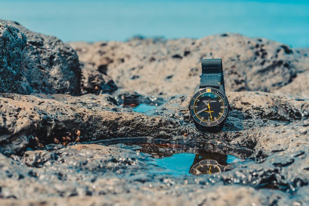 手錶/瑞士雅典錶/檸檬鯊潛水錶/台灣