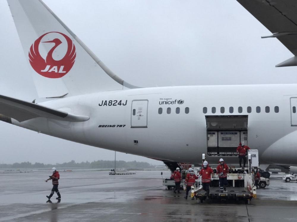 AZ疫苗/成田機場/日航/日本/台灣