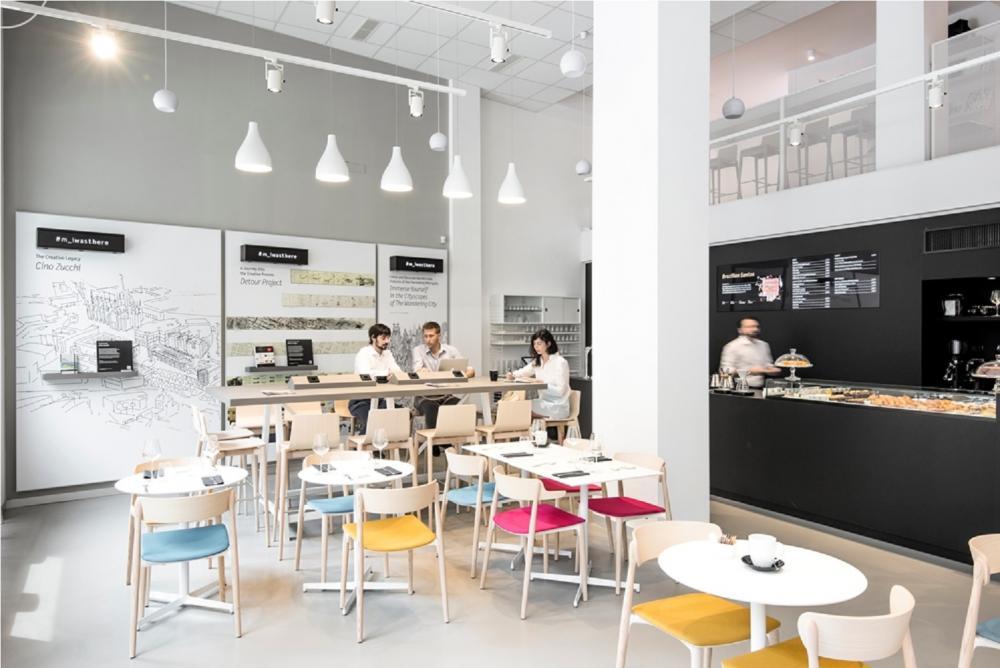 內部/Moleskine Café/咖啡廳/米蘭/意大利