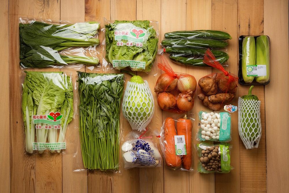 蔬菜箱/奧丁丁市集/防疫物資/台灣